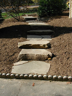 You Can See Too How This Step / Walk Configuration Also Adds Interest While  Integrating Well With The Landscape.