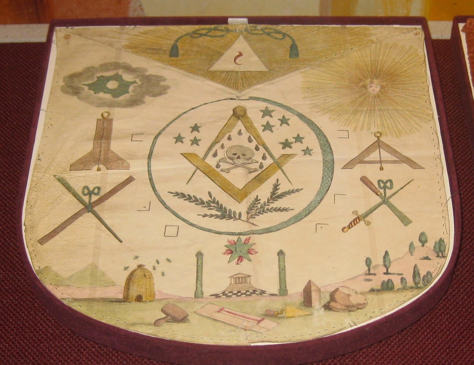 White apron freemason - Masonic Aprons