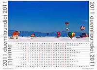 Calendari 2011 con foto