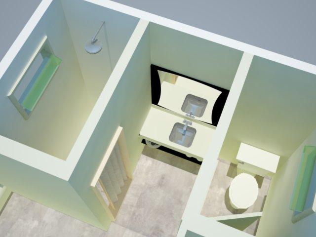 Hábito de Design por Camila Canedo Projeto Proposta para melhoria de espaço -> Armario Para Banheiro Externo