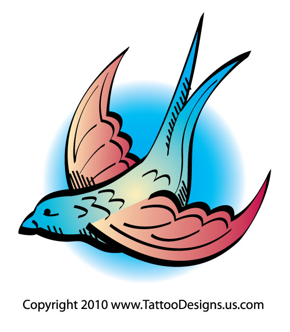 tattoo design swallow. swallow tattoo designs. Tattoo Design - Swallow Tattoo