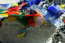 EVEREST BASE CAMP (5364 m)