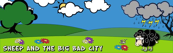 Sheep and the big bad city