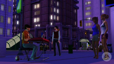 Sims 3 Late Night