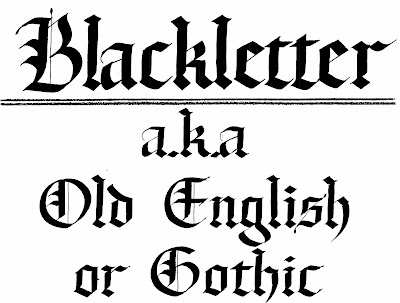 blackletter akaold english