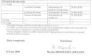 Nicolae Manolescu. Indemnizatie de conducere a USR/2007: 51.334 RON/anual, net