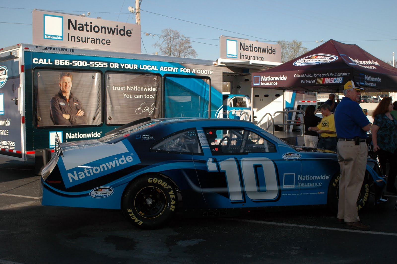 Nationwide Auto Quote Behind The Scenes With Nascar And Series Sponsors