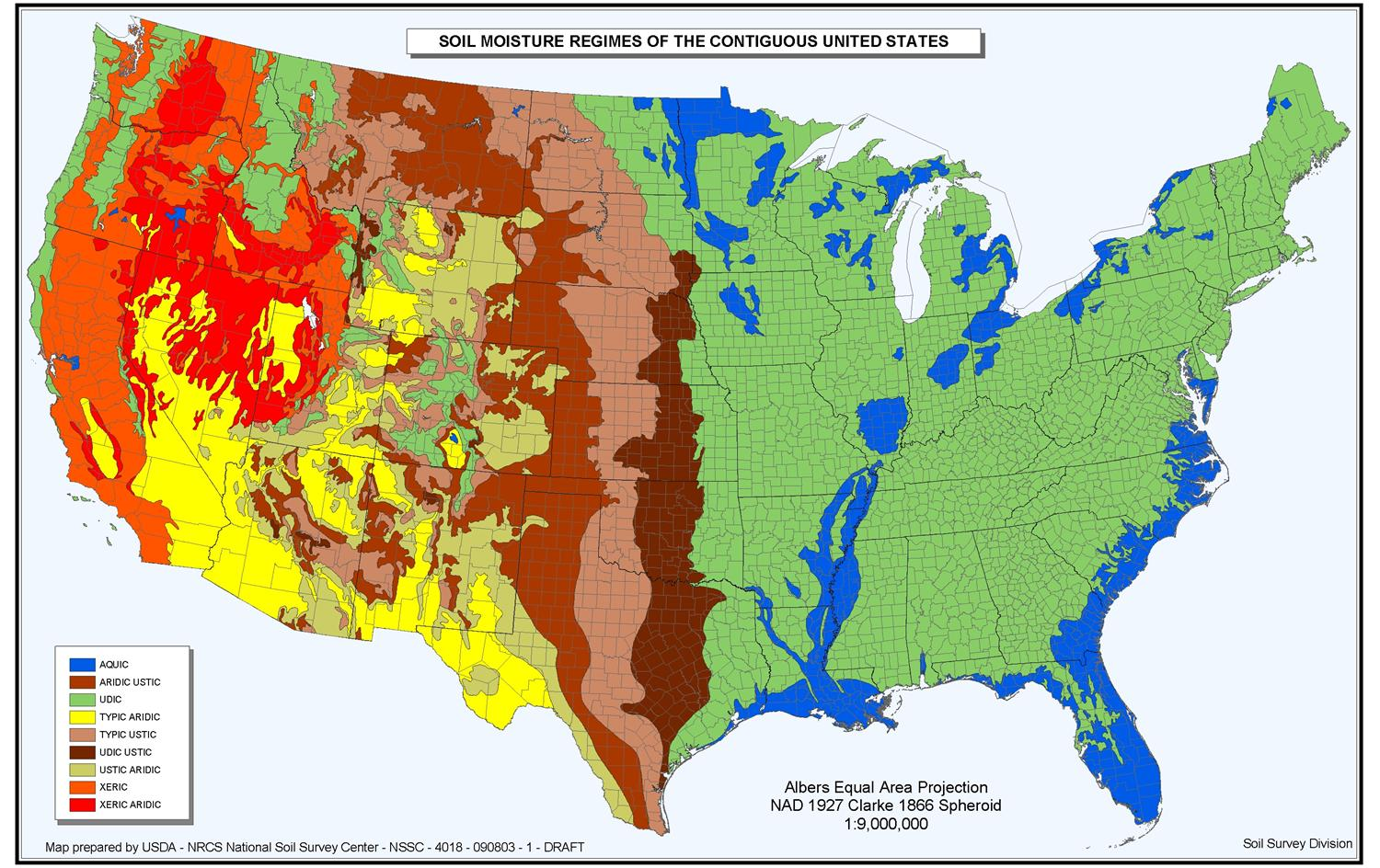 Achilles maps thematic map for Soil zone definition