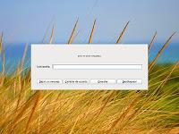Diálogo de bloqueo modificado en Arch Linux