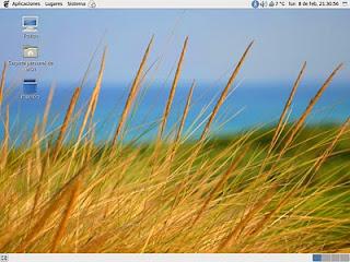 Cambiar el fondo de pantalla de GDM Escritorio-Dune