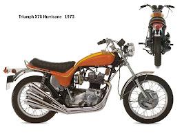 Triumph X 75 Hurricane