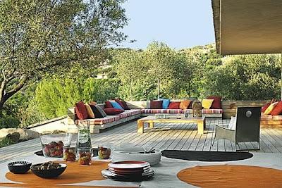 Lavanda rose terrazze for Terrazze arredate