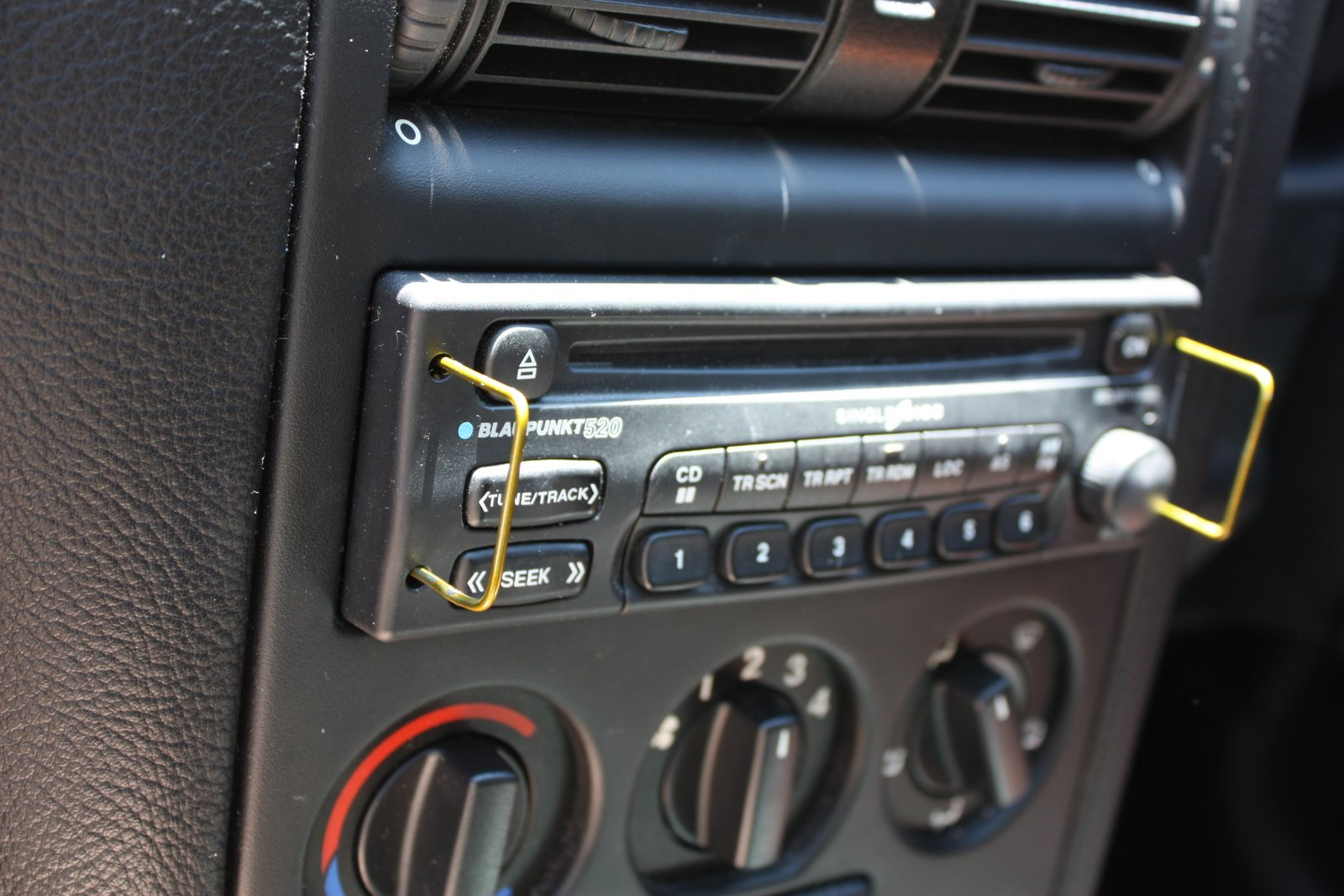 Step 2: Makeshift stereo removal keys