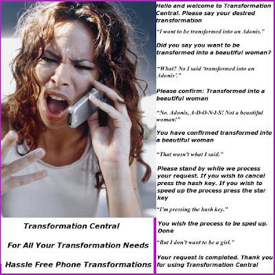 age regression transformation