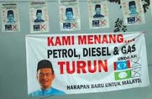 Anwar jadikan Minyak Sebagai Alat Untuk Capai Cita-Cita Politik