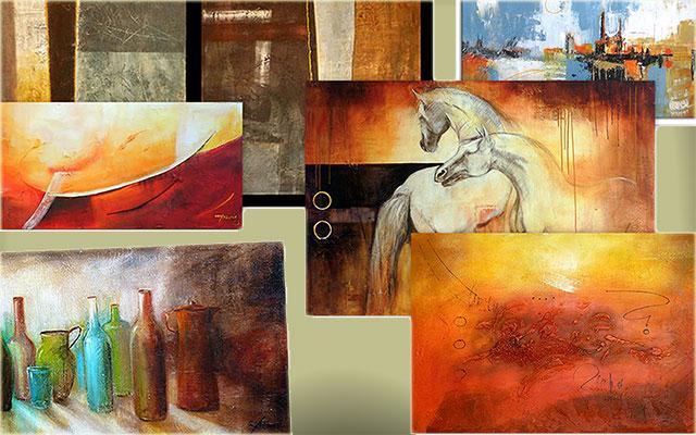 venta de cuadros modernos cuadros abstractos cuadros con textura y relieve