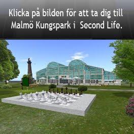 Länk till Malmö Kungspark i Second life (SLURL)