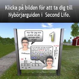 Länk till Nybörjarguiden i Second life (SLURL)