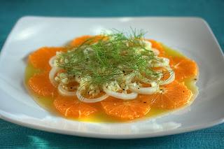 narancs narancssaláta ánizskapor édeskömény édesköménygumó ánizskaporgumó hagyma