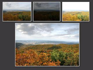 hdr suli ősz bükk kilátás látó-kövek látó-kő őszi táj