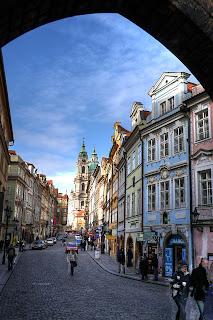 híd utca hdr prága csehország