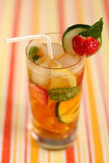 pimms no. 1 lemonade koktél limonádé sprite 7up uborka menta borsmenta eper citrom zöldcitrom narancs