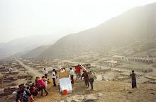 Homenaje a las víctimas, Jicamarca, Lima