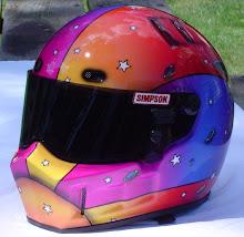 Drag Racer helmet
