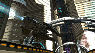 WipeOut HD Playstation 3 game screenshot 2