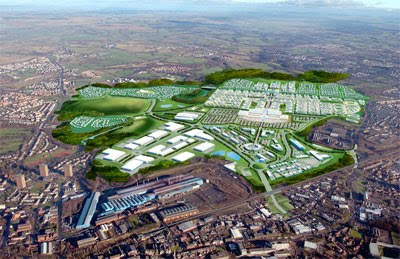the exciting masterplan for Ravenscraig