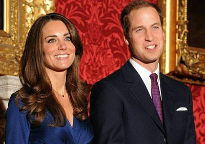 the Tory couple -  Kate and William
