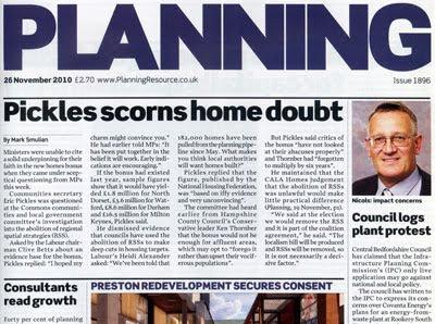 the boring 'Planning' weekly magazine