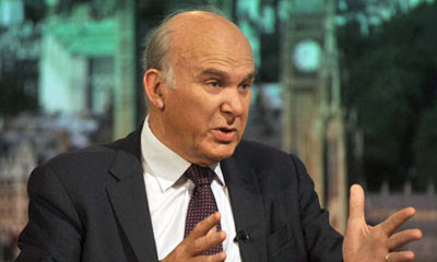 the Tory Vince Cable