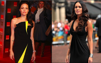 Angelina Jolie and Megan Fox