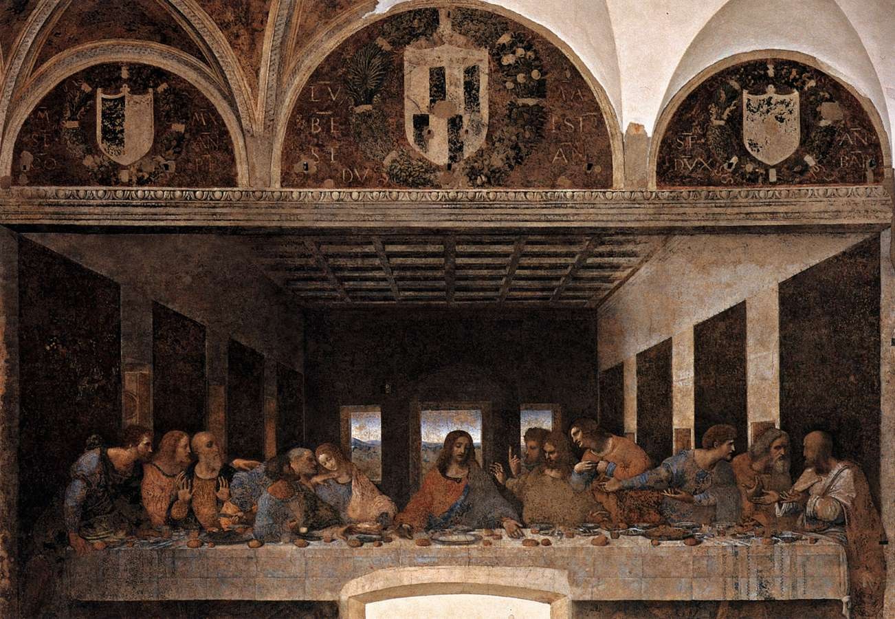 leonardo da vinci s the last supper The last supper, leonardo da vinci, milan all tourist information also on last supper opportunity to stay in hotel, apartments and bed and.