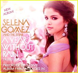Selena Gomez  on Selena Gomez Rain Album Jpg