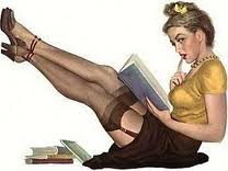 Get Your Books Out Girls....Reading is Sexy!