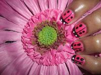 Nail Art Ideas 2010 - Ladybug-2