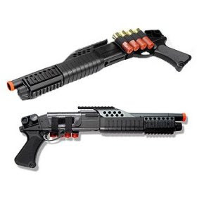 Airsoft pistol-grip pump shotgun