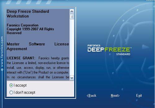 faronics deep freeze 8.38 license key