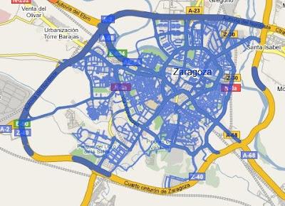 Ampliada la cobertura de StreetView en Madrid, Barcelona, Sevilla y Valencia StreetView-Zaragoza