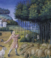 """Trees have long provided sustenance for people and their livestock."" c. 1400"