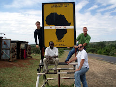 KenyaTeam 2007--At the Equator
