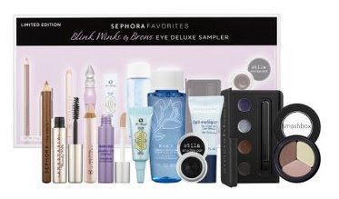 Sephora's Mascara Sampler and more….