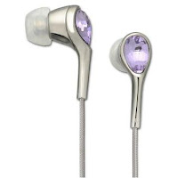 Swarovski Space Violet In-Ear Headphones