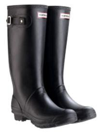 Hunter Wellington Boots Huntress design