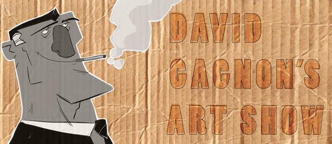 david gagnon's art show