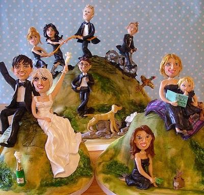 торта - Сватбената торта Funny+wedding+cakes+1