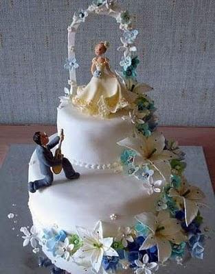 торта - Сватбената торта Funny+wedding+cakes+25