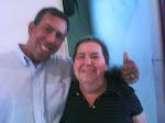 Pastor Valdir Braga e a sua Mãe Missionária Santina, saudades